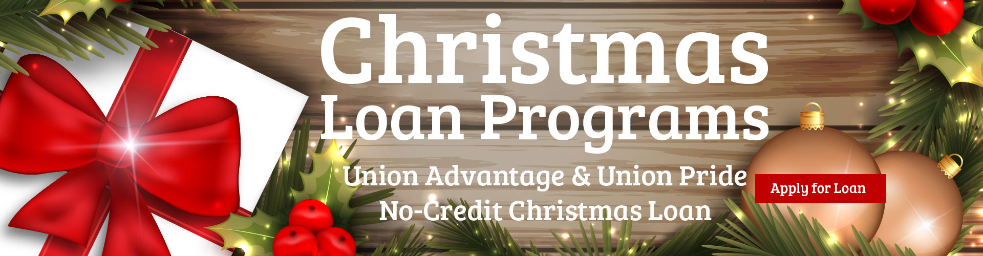 Christmas Loan Programs